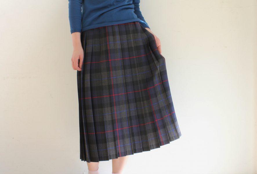 Charpentier de Vaisseau O'neil of Dublin シャルパンティエ・ドゥ・ヴェッソ オニール・オブ・ダブリン ハオス シャルパンティエ オニール プリーツスカート Pleated Skirt