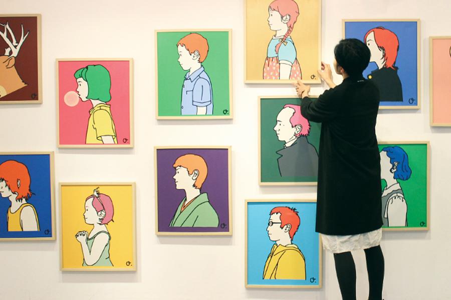 Misato Oka exhibition 2017.11.18-19